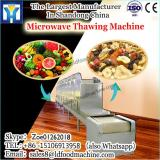 China supplier conveyor belt microwave thawing machine for chicken