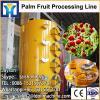 Vegetable oil crops production plant