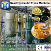 Good homemade soybean oil press with BV CE