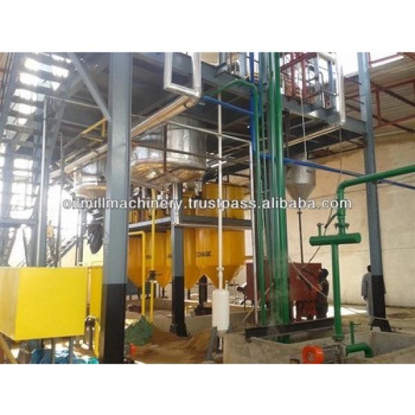 Cotton seeds oil making and refining equipment plant #5 image