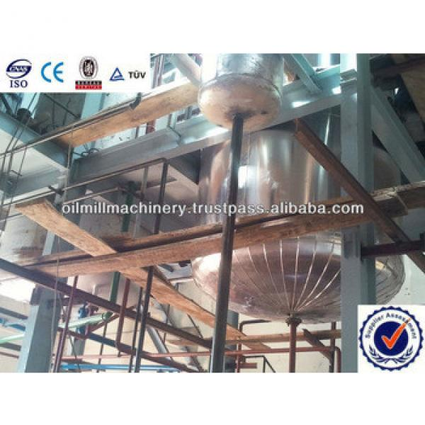Easy operation and energy saving crude soybean oil refinery #5 image