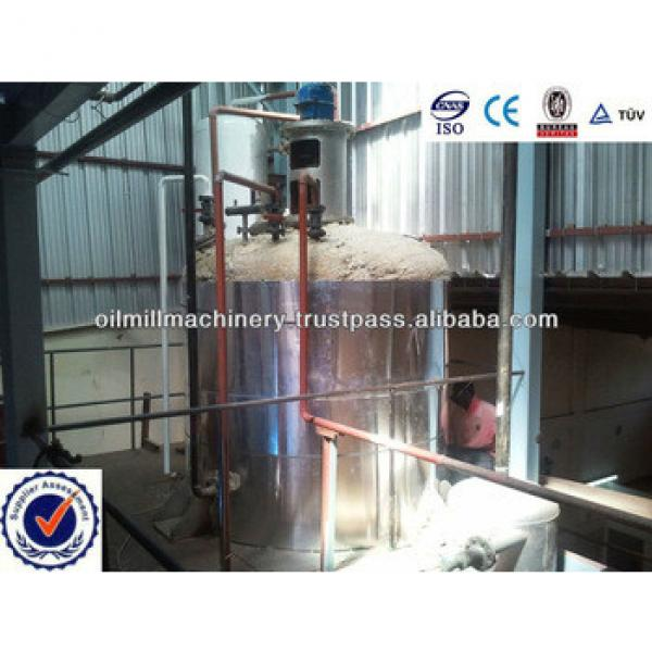Cold Pressed Rice Bran Oil Machine/Rice Bran Oil Refining Equipement Plant #5 image