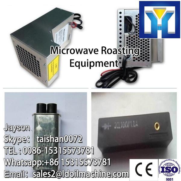 Tunnel type microwave dryer and sterilization oven for pepper powder #3 image