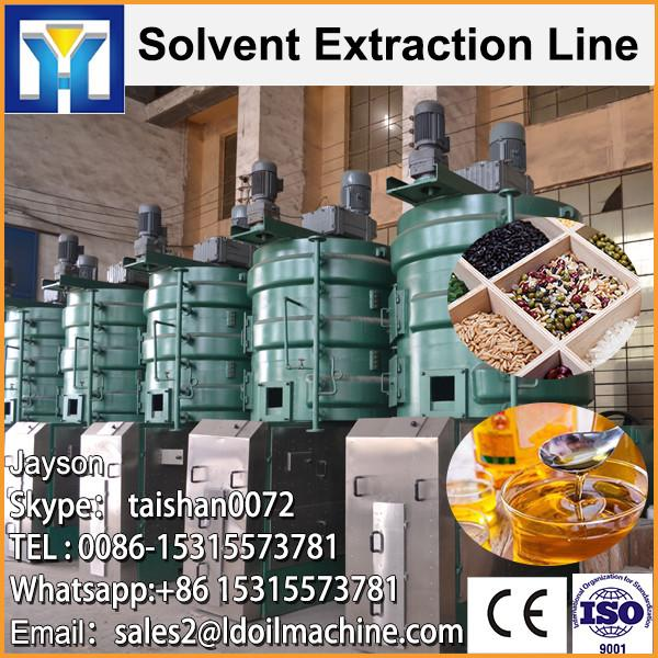 Qi'e Brand high quality peanut oil solvent extraction machine line #1 image