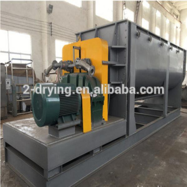 Paddle Dryer for Drying City Sludge #1 image