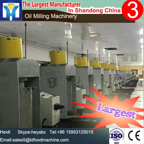 high quality LD selling Edible oil refinery oil hydraulic press machine oil making production line #1 image