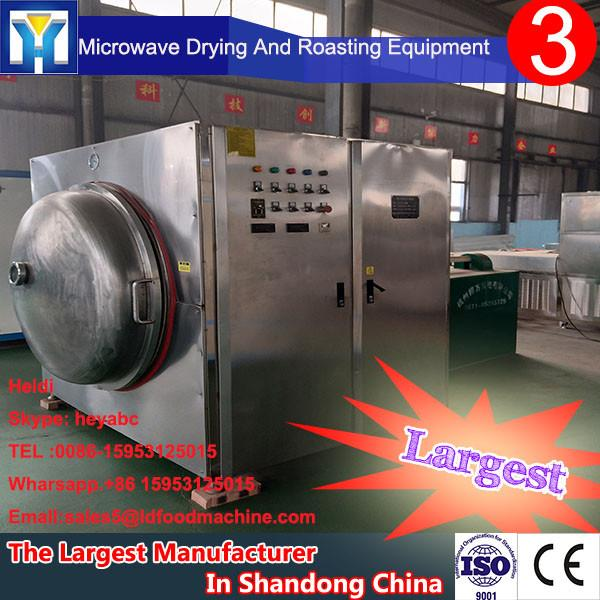 Can be customized with a continuous belt maqui microwave drying and sterilization machine dryer dehydrator with best price #1 image