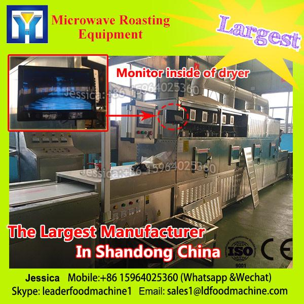 Continuous microwave for rice flour dryer/rice flour drying machine #1 image