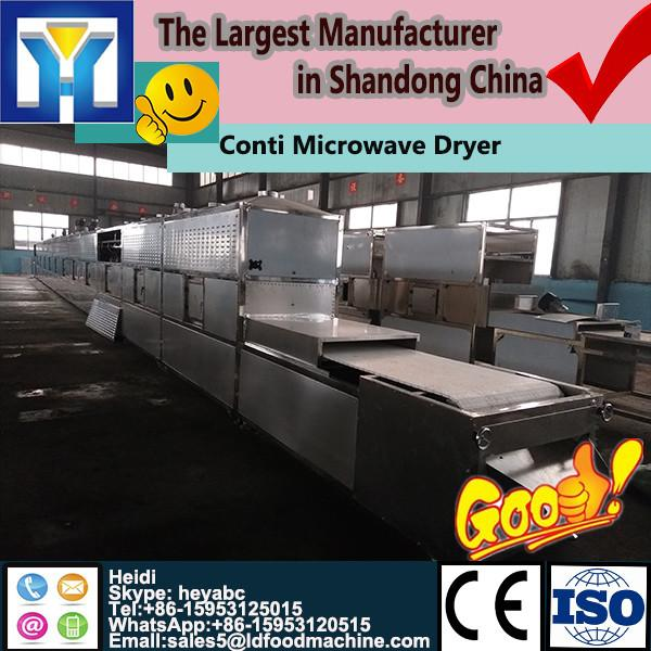 Professional continuous microwave dryer for teas spice #1 image