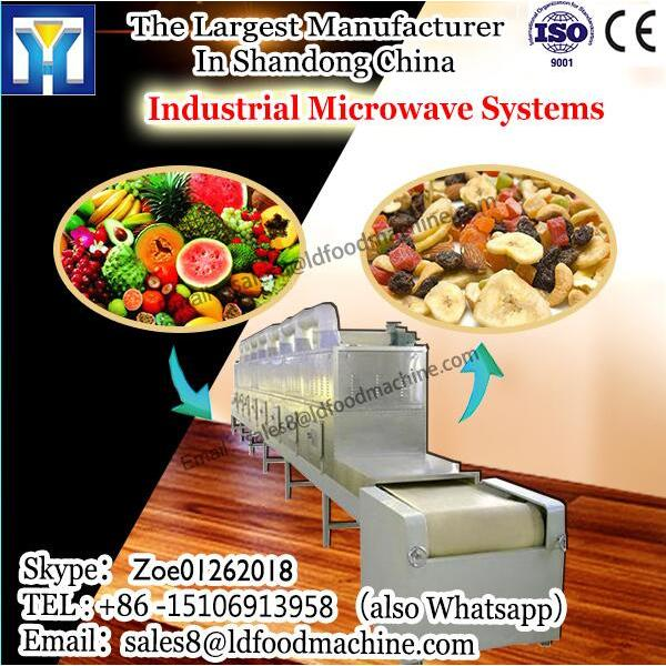 Chinese herbal medicine microwave dehydration machine-Herbs medicinal leaf microwave drying equipment #1 image