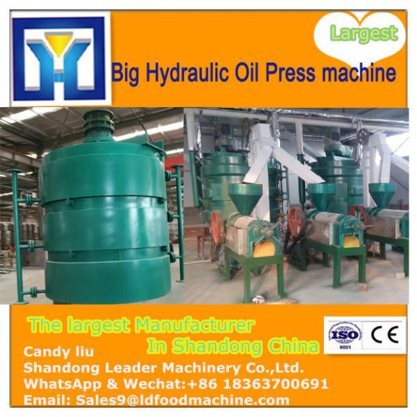 Fully automatic hydraulic press automatic seed hot oil press/avocado oil press machine HJ-P50 #1 image