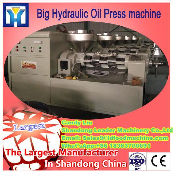 Fully automatic hydraulic press automatic seed hot oil press/avocado oil press machine HJ-P50 #3 image