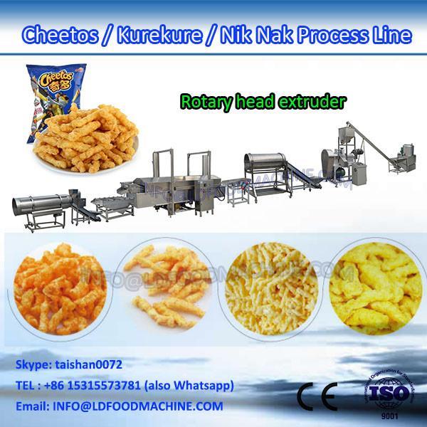 corn grits nik naks extruder make machinery production line #1 image