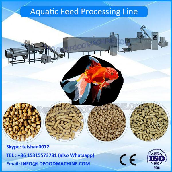 2016 Jinan Floating fish feed extruder machinery--1T/H #1 image