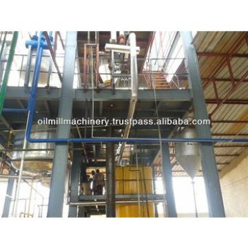 Small refinery for crude cooking oil refinery equipment plant