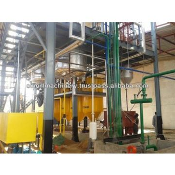 Cotton seeds oil making and refining equipment plant
