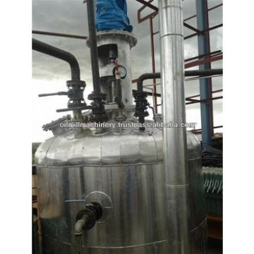 Vegetable crude oil refinery plant for edible and cooking vegetable oil