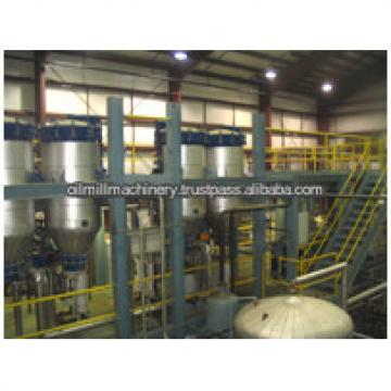 The newest technology cotton seed oil refinery plant