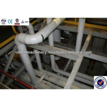 Oil making plant including refining