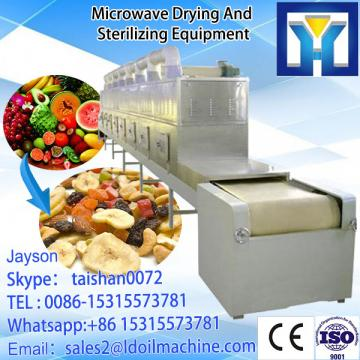 Industrial microwave drying and sterilizing machine for hibiscus flowers