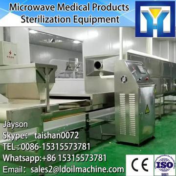 Industrial Conveyor Belt Microwave Black Pepper Drying Machine For Sale