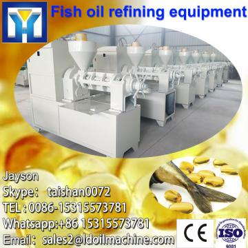 Supplier of crude cooking oil refinery with CE ISO 9001 certificates
