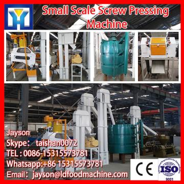 Cold pressed peanut spiral oil press