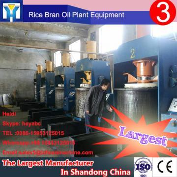 large capacity machine to refine vegetable oil