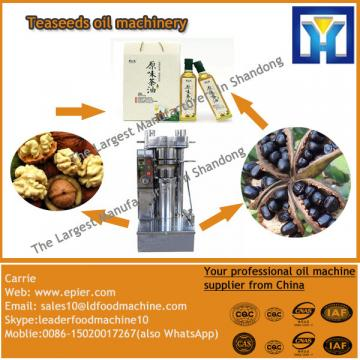 Continuous and automatic peanut oil making line with ISO9001 in 2016