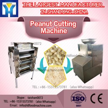 1.5kw Stainless Steel Peanut Cutting Machine 300kg / h 4 - 6kg / cm2
