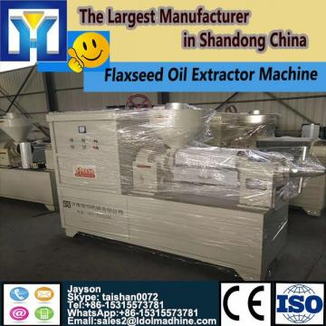 Microwave continuous drying equipment for leaves