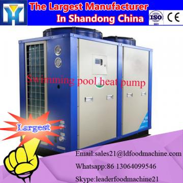 Geothermal heat pump for house heating and sanitary hot water