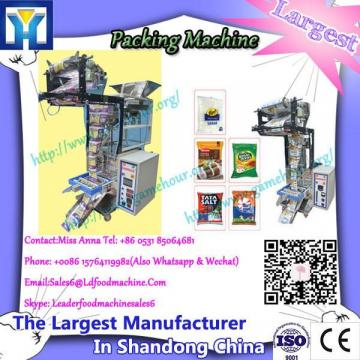 Zipper standup pouch food automatic filling and sealing packaging machinery
