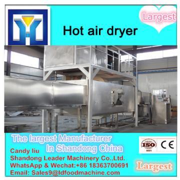 Continuous process belt type mushroom dryer machine
