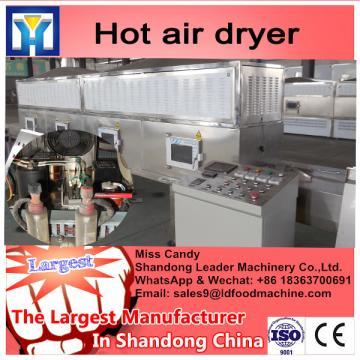 Mint leaf multiple layer stainless steel conveyor dryer