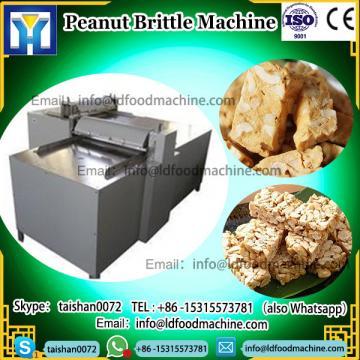 Sugar Cook Boiler Peanut Brittle Production Line