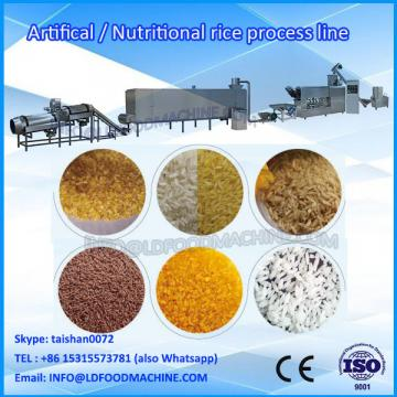 new condition and full automatic artificial rice extrision line /make machinery/make equipment