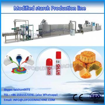 Modified starch machinery