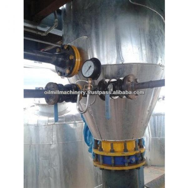 Non-pollution pyrolysis waste oil refinery with strong dust remove system made in india #5 image