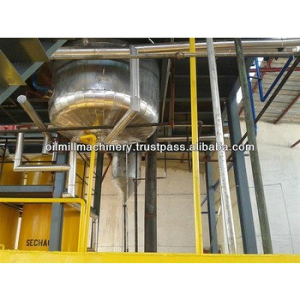 Sunflower crude cooking and edible oil refining equipment machine #5 image