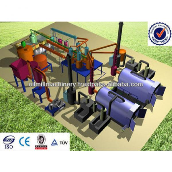 Waste Rubber Recycling Machines Pyrolysis Plant Made in India #5 image