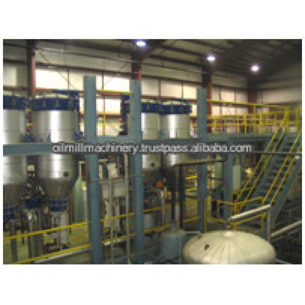 Edible oil refinery plant/vegetable oil refining machine with CE ISO #5 image