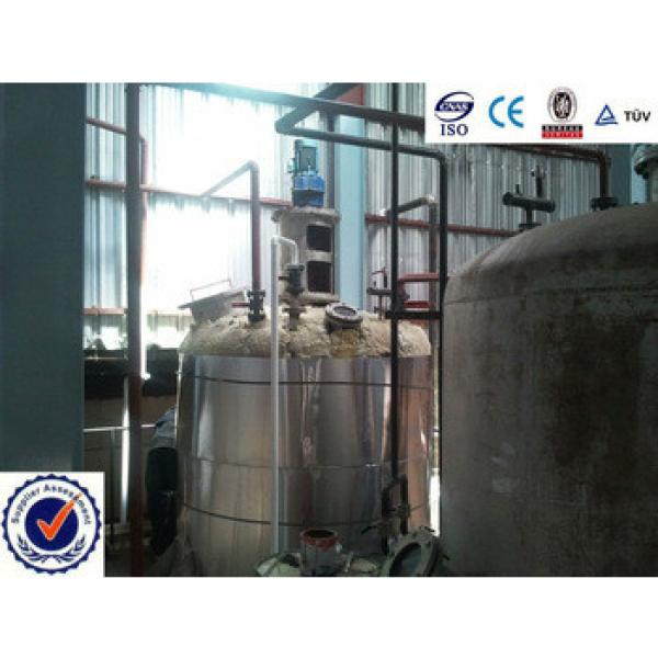200t Continous refining of cottenseed oil plant #5 image