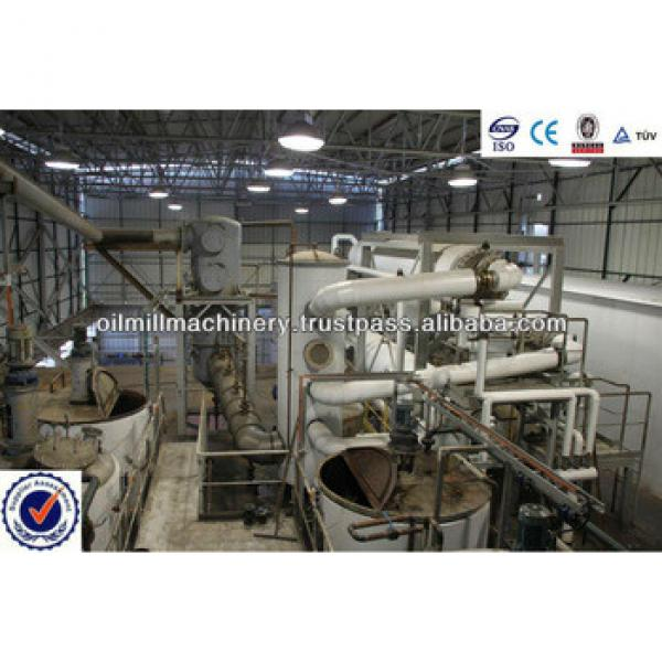 Crude Soybean Oil Refinery Plant 1-600 tons/day CE ISO certificate #5 image