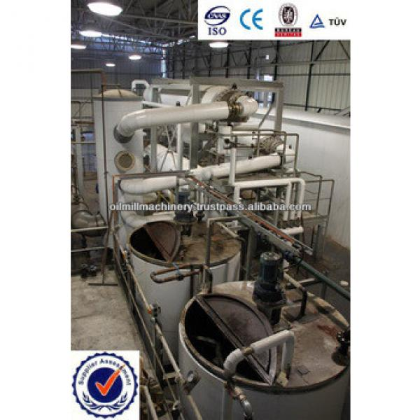 50 TPD Soyabean/ Peanut/ Rapeseed crude oil refinery plant #5 image