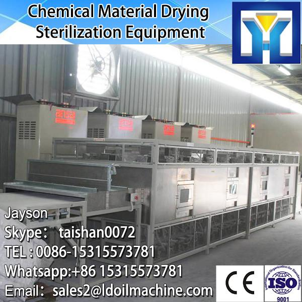 Tunnel conveyor belt type microwave heating oven for meals #3 image
