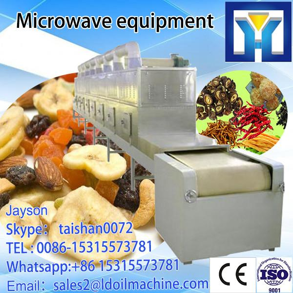 fresh tobacco leaves dehydration and sterilization machine /microwave oven #4 image