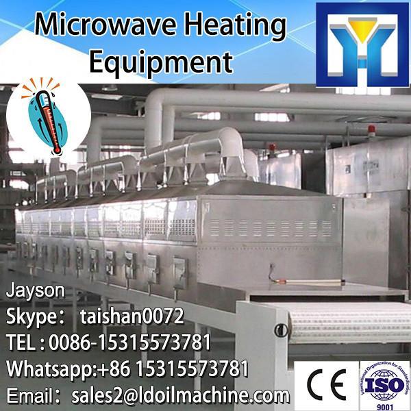 Conveyor belt type microwave fish slice dryer machine #3 image