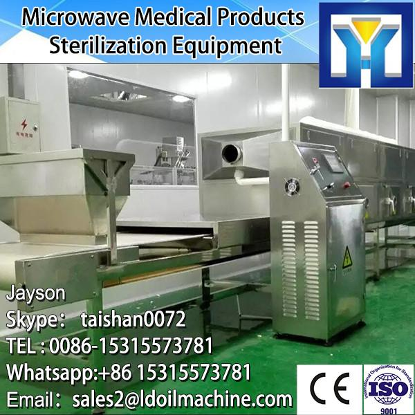 Stainless steel tunnel continuous microwave drying preserved pork oven #3 image