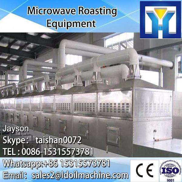 pistachio&chinese chestnut drying microwave belt type machine #1 image